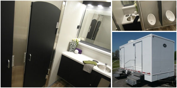 Wedding Bathroom Trailer Rentals & Restroom/Shower Trailers in New Jersey (NJ)