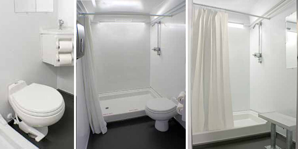 New Jersey Restroom Trailer With Showers in New Jersey