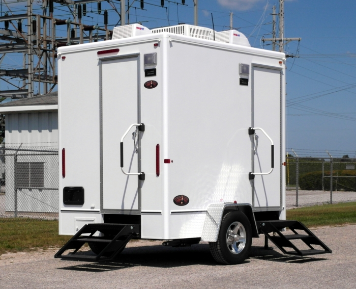 Eastern Goldfinch Restroom Trailer Rental in New Jersey