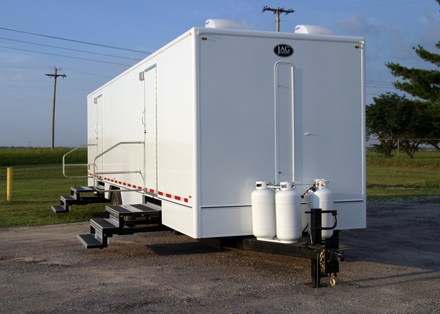 New Jersey's Largest Fleet of JAG Mobile Restroom Trailers & Shower Trailers
