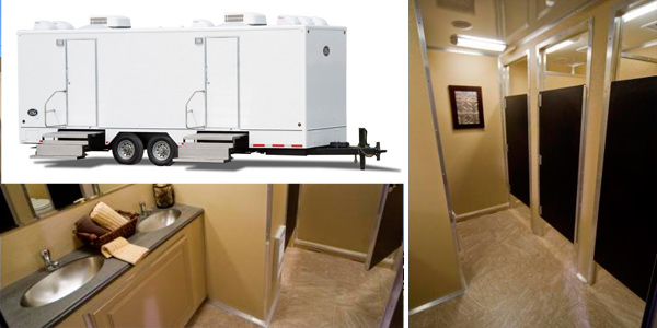 New Jersey Restroom Trailer Rentals & Portable Toilet Rentals Throughout The State of New Jersey.