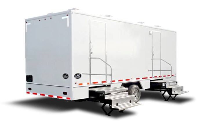 Largest Fleet of Mobile Restroom Trailer Rentals in New Jersey.
