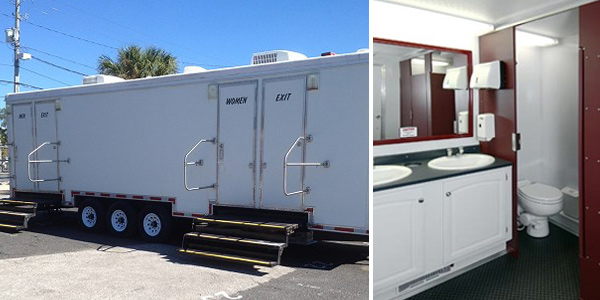 The Skylands Restroom Trailer Rentals in New Jersey